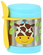 """Термоконтейнер за храна - Жирафчето Джулс 325 ml - За бебета над 12 месеца от серията """"Zoo"""" -"""