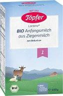 Био козе мляко за кърмачета - Bio Goat Milk 1 - Опаковка от 400 g за бебета от момента на раждането - продукт