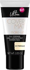 Bell Ultra Cover Mat Make-Up - Фон дьо тен с матов ефект - спирала