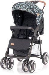 Лятна бебешка количка - Ines - С 4 колела -