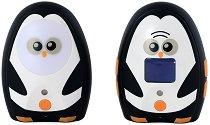 Дигитален бебефон - Care and Calm - С температурен датчик, нощна светлина и възможност за обратна връзка -