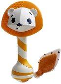 Дъвкалка с дрънкалка - Лъвчето Леонардо - За бебета над 3 месеца -