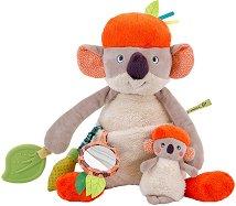 """Коалата Коко с малкото си - Бебешка играчка от серията """"Dans la jungle"""" - играчка"""