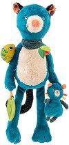 """Пантерата Зимба с нейното малко - Бебешка играчка от серията """"Dans la jungle"""" - играчка"""
