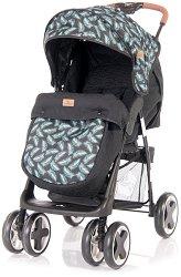 Лятна бебешка количка - Ines - С 4 колела и покривало за крачета -