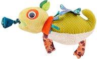 """Хамелеон - Вибрираща плюшена играчка за бебета : от серията """"Dans la jungle"""" -"""