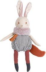 """Зайче - Plume - Мека бебешка играчка с височина 44 cm : от серията """"Apres la pluie"""" -"""