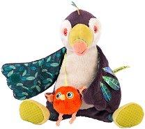 """Туканът Пако - Детска музикална играчка от серията """"Dans la jungle"""" -"""
