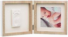 """Рамка за снимка и отпечатък - My Baby Style - От серия """"Wooden"""" -"""