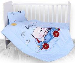 Бебешки спален комплект от 3 части - Мече -