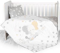 Бебешки спален комплект от 3 части - Слонче - продукт