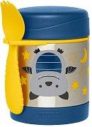 """Термоконтейнер за храна - Прилепче 325 ml - За бебета над 12 месеца от серията """"Zoo"""" -"""