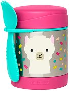 """Термоконтейнер за храна - Лама 325 ml - За бебета над 12 месеца от серията """"Zoo"""" -"""