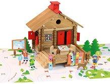 Хижа - Дървен конструктор -