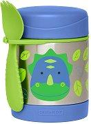"""Термоконтейнер за храна - Динозавърчето Дакота 325 ml - За бебета над 12 месеца от серията """"Zoo"""" -"""