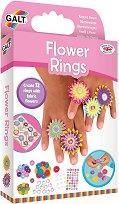 Направи сама пръстени - Цветя - Творчески комплект - играчка