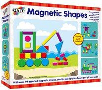 """Магнитна мозайка с дъска - От серията """"Играй и учи"""" - творчески комплект"""