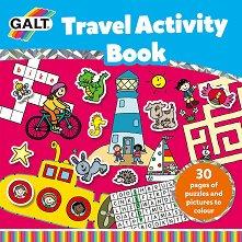 Galt: Активна книжка за път Travel Activity Book - творчески комплект