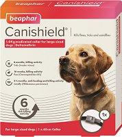 Beaphar Canishield Flea & Tick Collar - Противопаразитна каишка за големи и много големи породи кучета -