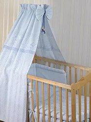 Бебешки спален комплект от 4 части - New Eko - 100% памук за легла с размери 60 x 120 cm и 70 x 140 cm -