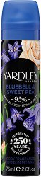 Yardley Bluebell & Sweet Pea Body Fragrance - Спрей дезодорант - дезодорант