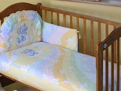 Бебешки спален комплект от 3 части - Expo 2000 - 100% памук за легла с размери 60 x 120 cm и 70 x 140 cm -