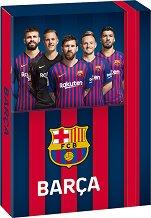 Кутия с ластик - ФК Барселона - Формат A4