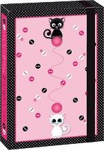 Кутия с ластик - Think Pink - Формат A4