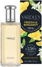 Yardley Freesia & Bergamot EDT - балсам