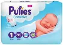 Pufies Sensitive 1 - Newborn -