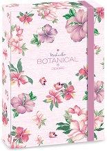 Кутия с ластик - Botanic Mallow - Формат A4
