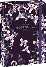 Кутия с ластик - Botanic Orchid - Формат A4