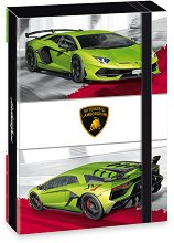 Кутия с ластик - Lamborghini - Формат A4