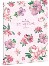 Папка с ластик - Botanic Mallow - Формат A4