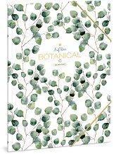Папка с ластик - Botanic Leaf