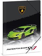 Папка с ластик - Lamborghini - Формат A4