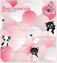 Етикети за тетрадки - Think Pink - продукт