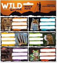 Етикети за тетрадки - Wild Life Moments -