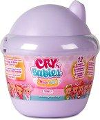 Cry Babies - Magic Tears - Плачеща мини кукла бебе изненада с аксесоари - кукла
