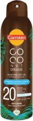 Carroten Coconut Dreams Suncare Dry Oil - Слънцезащитно сухо олио за тяло -