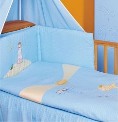Бебешки спален комплект от 4 части - Panorama Kora -