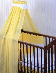Бебешки спален комплект от 4 части - Hippo - За легла с размери 60 x 120 cm и 70 x 140 cm -