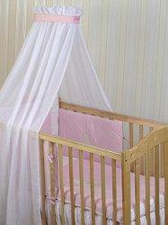 Бебешки спален комплект от 4 части - Rabbit - 100% памук за легла с размери 60 x 120 cm и 70 x 140 cm -