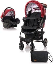 Бебешка количка 2 в 1 - Daisy Set 2020 - С 4 колела -