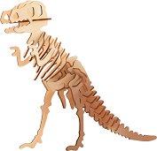 Тиранозавър рекс - Дървен 3D пъзел -