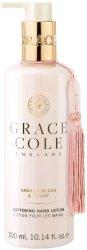"""Grace Cole Vanilla Blush & Peony Softening Hand Lotion - Омекотяващ лосион за ръце от серията """"Vanilla Blush & Peony"""" - крем"""