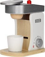 Кафе машина - Детска дървена играчка с аксесоари -