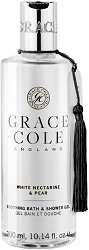 Grace Cole White Nectarine & Pear Soothing Bath & Shower Gel - гел