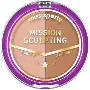 Miss Sporty Mission Sculpting Powder - Скулптурираща дуо пудра за лице -
