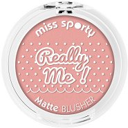 Miss Sporty Really Me Matte Blusher - Компактен руж за лице -